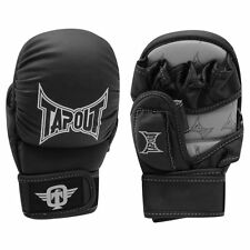 TapouT Elite Series Grappling/Training Gloves MMA Mixed Martial Arts, Black L/XL