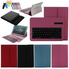 For 9.7 10.0 10.1 tablet universal Bluetooth Keyboard + Leather Case Cover +PEN