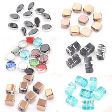 Wholesale 20Pcs Charm Mixed Crystal Glass Loose Spacer Beads Jewelry Finding DIY