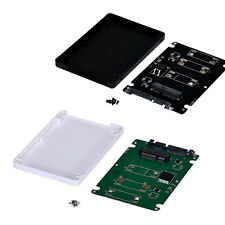 Mini pcie mSATA SSD To Standard 2.5Inch SATA3 Interface Adapter Card With Case
