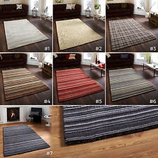 MED - EXTRA LARGE 100% WOOL SOFT HAND KNOTTED HIGH QUALITY OXFORD CAMBRIDGE RUG
