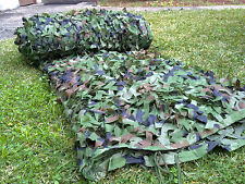 Hunting Series Army Woodland Camouflage Netting Blind Netting 5M X 3M