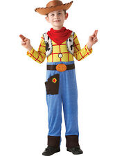 Child Licensed Disney Toy Story Deluxe Woody Fancy Dress Kids Cowboy Costume