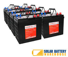 12V/ 24V/ 48V 240 AH OFF GRID SOLAR DEEP CYCLE AGM BATTERY BANK