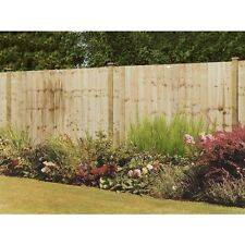 Grange 3ft High Wooden Professional Feather Edge Garden Fence Panel