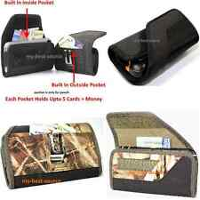 Strong Pouch Holster Belt Clip To Hold Magpul Case+Built In 2 Money Card Pocket