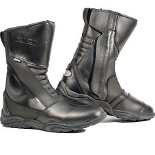 Richa Zenith Motorcycle Boots Waterproof Zip Bike Leather Motorbike All Sizes
