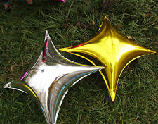 26 Inch Foil Balloon Gold & Silver Star Shape Wedding Birthday Party Decoration