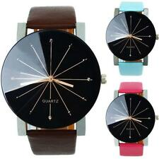 Dress Watch Womens Watch Mens Watch Faux Leather Band Casual Watch Wristwatches
