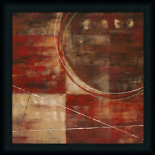 Perfect Arrangement II by Nan Abstract Red Framed Art Print Décor Picture 20x20