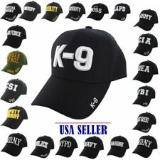 WHOLESALE LOT 12-96 BASEBALL STYLE: SECURITY,FBI,LAPD,K-9,STAFF,CSI (HAT/CAPS)