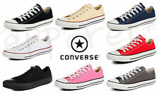 CONVERSE ALL STAR LOW  CLASSIC TRAINERS UNISEX LOW PRICE SALE GYM CASUAL