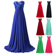 Cheap Long Formal Evening Gown Wedding Maxi Party Prom Cocktail Bridesmaid Dress