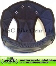 GENUINE AGV K3 REPLACEMENT MOTORBIKE MOTORCYCLE HELMET TOP PAD / LINER XS-XXL