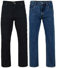 NEW MENS JEANS BY KAM K150 DESIGNER REGULAR FIT DENIM ALL WAIST & LEG SIZES