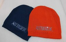 New NCAA AUBURN TIGERS The Game Ladies KNIT HAT w/SEQUINS Beanie ORANGE or BLUE