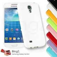 Soft TPU Glossy Silicone Gel Case Cover For Samsung Galaxy S4 Mini