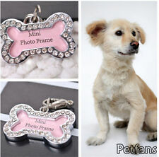 Customized Personalized Dog ID Tags Bone Shaped Dog Tag Stainless Steel Pet Cat