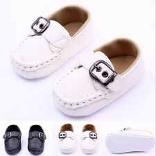 Toddler Infant Baby Boy Soft Leather Crib Shoes Soft sole Sneaker Prewalker
