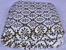 Cotton Voile Hand Block Floral Print Fabric Natural Dyes Sanganer Indian Fabric