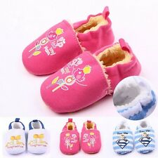 New Baby Infant Toddler Boys Girls Warm fur Winter Snow Sneaker Crib Shoes Boots
