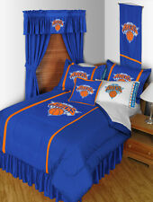NEW YORK KNICKS SIDELINES COMFORTER, SHEET SET, TOSS PILLOW