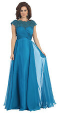 TheDressOutlet Mother of the Bride Dress Plus Size Formal Gown
