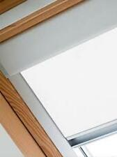 ROLLER BLINDS BLACKOUT FOR ALL VELUX ROOF WINDOWS EASY FIT- --CREAM-8 COLOURS