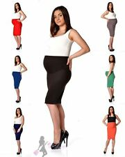 Maternity skirt pencil skirt in Various Colours Size 36 38 40 42 44 46, 3300