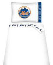 NEW YORK METS SIDELINES TOSS PILLOW & SHEET SET