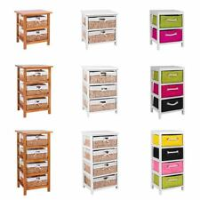 Maize 2 3 4 Drawers Unit Storage Cabinet Wood New By Home Discount