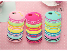 Cute 3D Hamburger Soft Silicone Skin Case Cover for iPhone 5 5S 6G 6S Plus