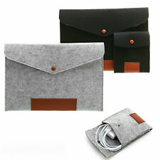 Envelope Bag Cover Case Sleeve & Cable Pouch For Apple iPad Pro 12.9 (2015)