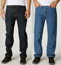 Fox Racing Mens Garage Relaxed Fit Denim Jeans
