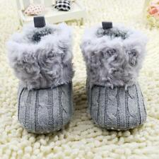 Winter Warm Soft Baby Shoes Snow Boots Girls Crib Shoes Cloth Toddler Boots Gift