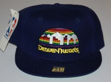 Denver Nuggets Vintage New Era 59Fifty 5950 NBA Fitted Cap Multiple Sizes