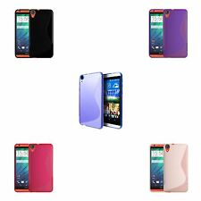 HTC DESIRE 820 S-LINE SILICONE GEL COVER CASE AND FREE SCREEN PROTECTOR