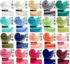 Fashion classic Solid Color Pashmina Cashmere Wool Scarf Wrap Shawl