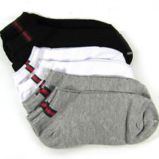 New 8 Pairs Mens Women Cotton Low Cut Ankle Sports Casual Socks Free Size 6-11
