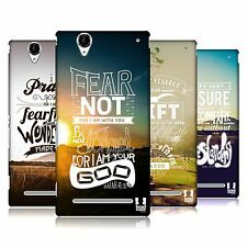 HEAD CASE DESIGNS CHRISTIAN SNAPSHOT HARD BACK CASE FOR SONY PHONES 3