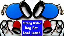 Strong Nylon Dog Pet Lead Leash with Clip for Collar Harness *dogld