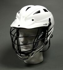 Cascade CPV-R Mens Lacrosse Helmet White W/Black Cage ADJ. (NEW) Lists for $160