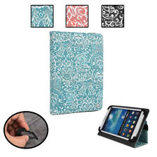 KroO Paisley Universal Fit Folio Cover Case fit Huawei IDEOS S7 Slim