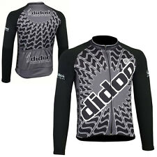 Didoo New Men's Long Sleeve Jersey Bicycle Cycling Thermal Sports Wear Tops MTB