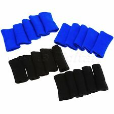 10Pcs Sports Basketball Stretchy Finger Sleeve Wrap Support Protector Arthritis