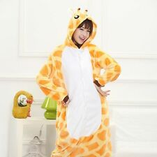 Hot!!!!! Unisex Adult Pajamas Kigurumi Cosplay Costume Animal Onesie Sleepwear