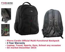 Pierre Cardin Official Multi Functional Laptop Sports Backpack Bag New  PC2052