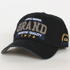 New Vintage GRAND Casual Unisex Baseball Hat Jean Fashion Military Cap Trucker