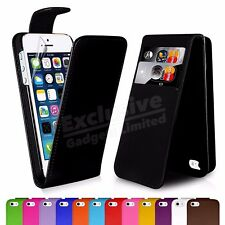 Leather Flip Wallet Magnetic Case Cover Free Protector For Apple iPhone SE 5s 5