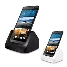 Fashion Desktop Charging Cradle Stand Charger Dock + USB Cable For HTC One M9
